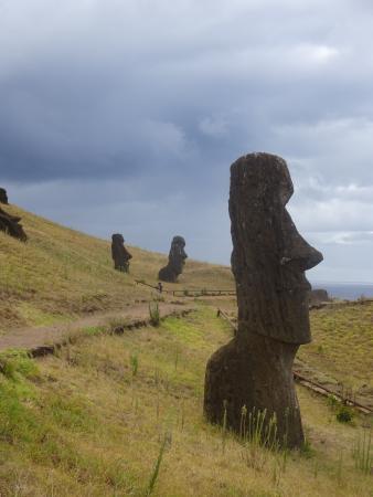 Hanga Roa, Chile: Rano Raraku