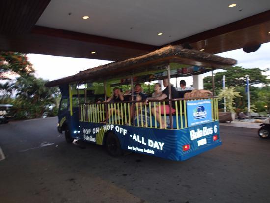 Denarau Island, Fiji: Bula Bus