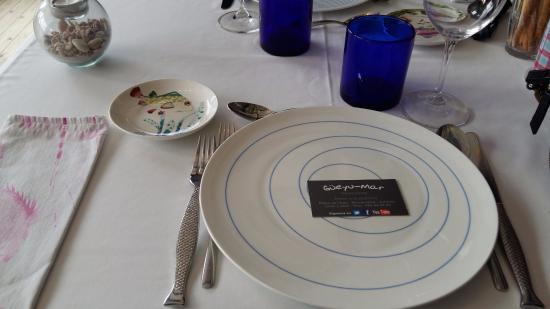 Vajilla fotograf a de restaurante gueyu mar ribadesella for Vajilla para restaurante