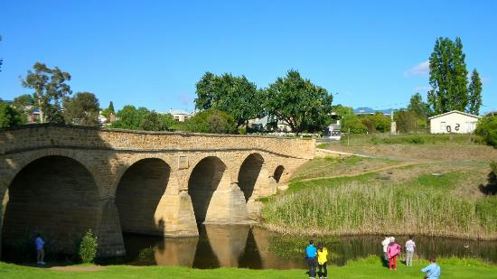 OLDEST BRIDGE in all of Australia!!!!! 1823 - Richmond Bridge, Tasmania