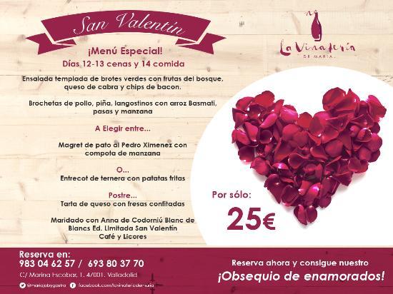 La Viña de Patxi es un restaurante abierto para la cena de San Valentín 12222 en Valladolid