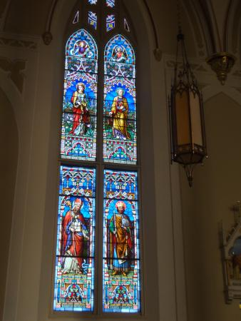 Natchez, MS: stained glass