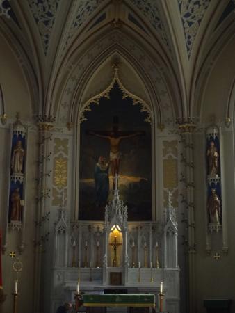 Natchez, MS: Paintingat the pulpit