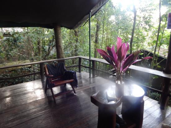 La Virgen, Costa Rica: Balcón de la habitación