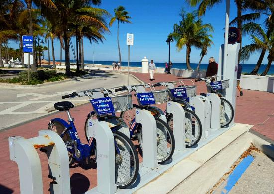 Fort Lauderdale Beach Park Al Bicycles