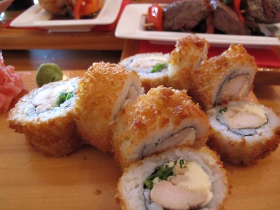 Satori Lounge : Satori Hot Rolls - chicken hot roll