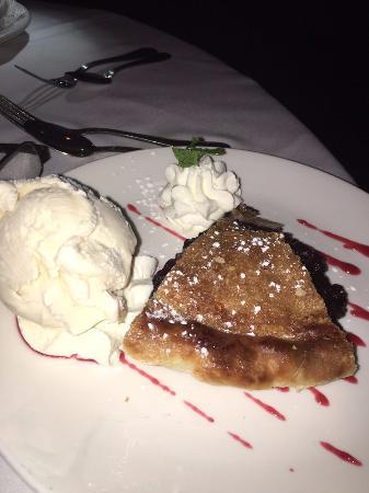 Edgewater, Nueva Jersey: blueberry pie