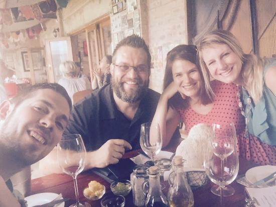 Wilderness, Güney Afrika: Good friends, sharing good food!