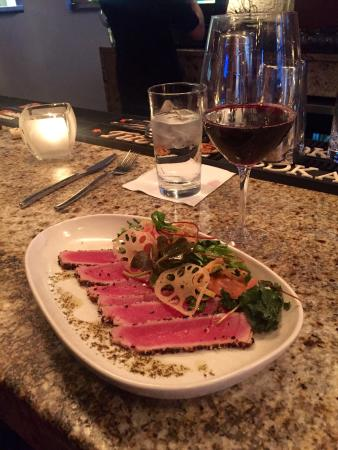 West Hartford, CT: Ahi tuna carpaccio