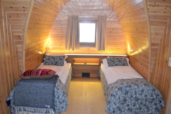 Snowhotel Kirkenes: Cozy cabin