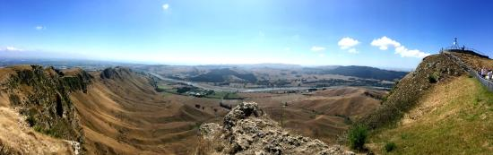Hastings, New Zealand: Pano of the Te Mata ridge