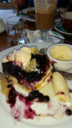 Arrowtown, นิวซีแลนด์: Sensational pancakes yummo Gr8 service and amazing settings 9/10