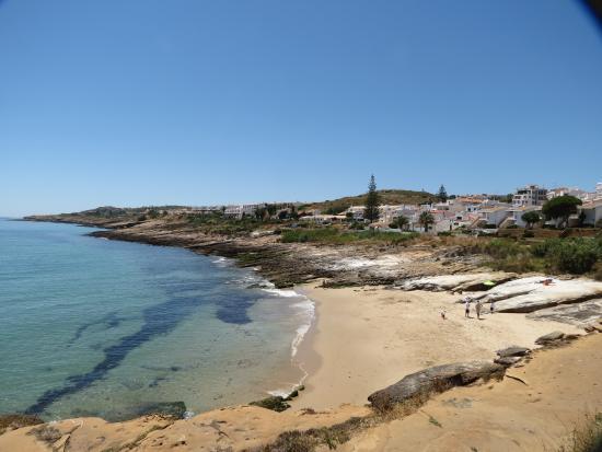 Luz, Portugal : Zweiter, kleinerer Strand unterhalb der Kirche