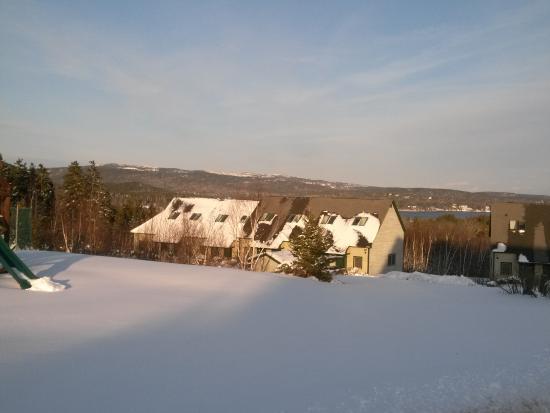Southwest Harbor, ME: Harbor Ridge in the winter snow