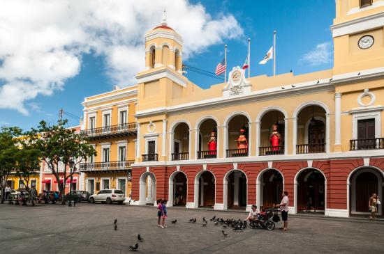 City Hall Overlooking Plaza de Armas