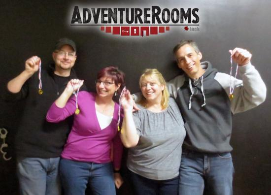 Kitchener, Canada: Adventure Rooms Canada