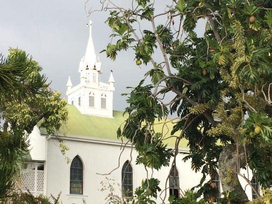 Honaunau, Hawái: Painted Church exterior