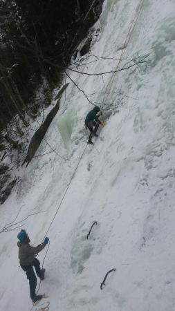 Twin Mountain, NH: An amazing introduction to ice climbing