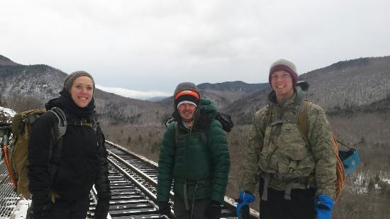 Twin Mountain, NH : An amazing introduction to ice climbing