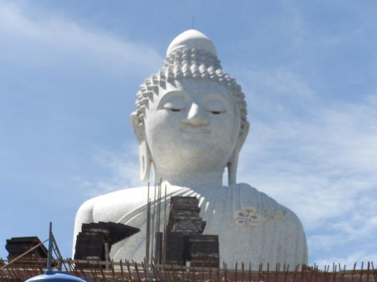 Chalong, Tailandia: ビッグブッダ建設中