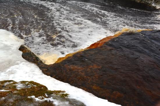 Harju County, Estonie : Водопад Ягала