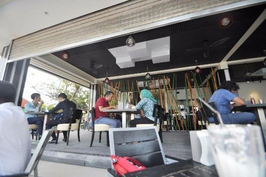 Breakwater: inside of restaurant.