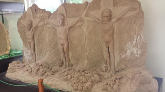 Mount Dandenong, Australia: Ricketts Sanctuary sculpture - in the workshop