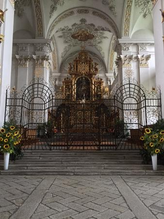 Kloster Disentis - Beautiful Abbey in Disentis.