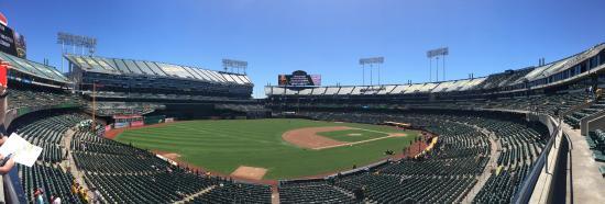 Όκλαντ, Καλιφόρνια: こじんまりしてるがきれいな球場