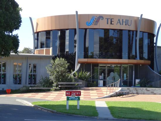 Kaitaia i-Site is located inside of TeAhu.