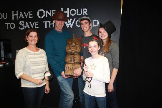 Playing an escape room is a great activity for families in ...