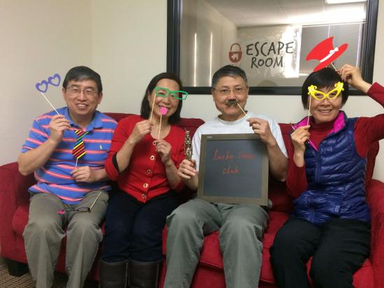 Irvine, CA: Celebrating Lunar New Year with some escape room fun!
