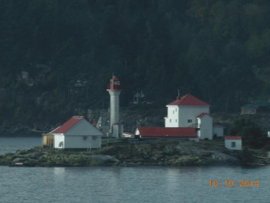Tsawwassen, Καναδάς: THe lone little lighthouse