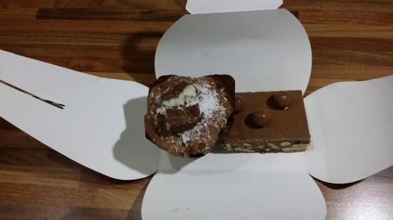 Mimi's Bakehouse: brownie e muffin