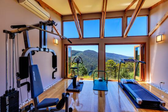 Tarraleah, أستراليا: Gym in the spa house