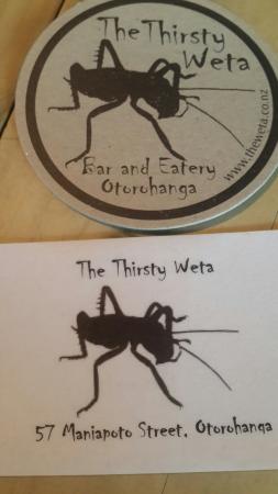 Otorohanga, Nowa Zelandia: The Thirsty Weta