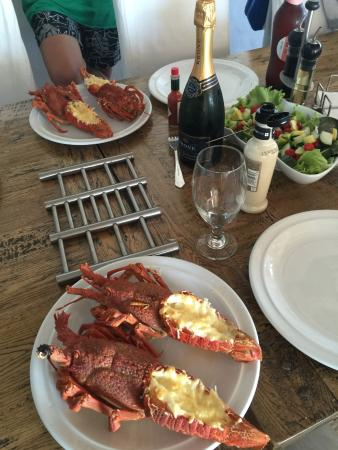 Paternoster, Южная Африка: Fresh Crayfish