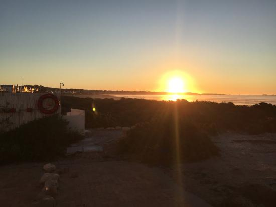Paternoster, Южная Африка: Sun set from the lounge area