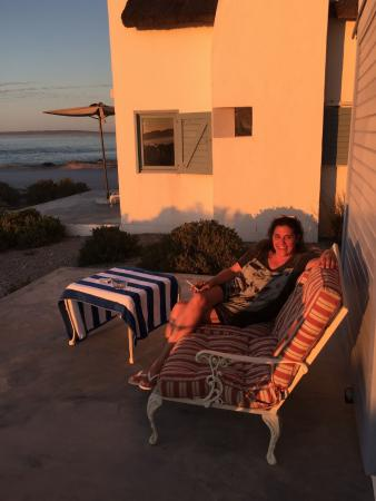 Paternoster, Südafrika: Chilling on the Patio