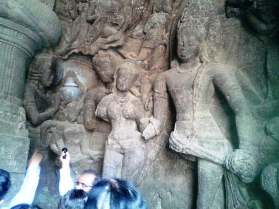 elephanta caves paintings - photo #42