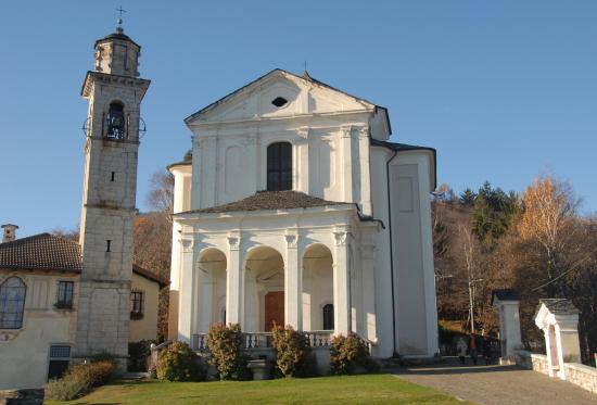Madonna del Sasso, Italia: Il Santuario
