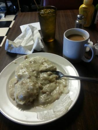Junction City, KS: Biscuits & gravy full order/ coffee