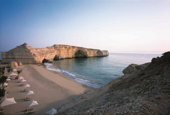 Shangri La Barr Al Jissah Resort & Spa-Al Husn: AH beach