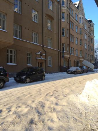 Radisson Blu Plaza Hotel, Helsinki: Outdoor view