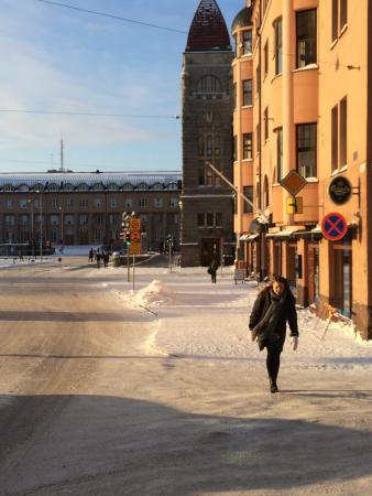 Radisson Blu Plaza Hotel, Helsinki: Railway station