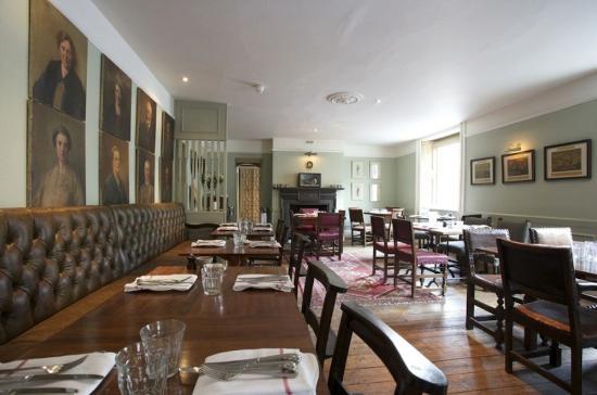 Northleach, UK: Wheatsheaf Restaurant