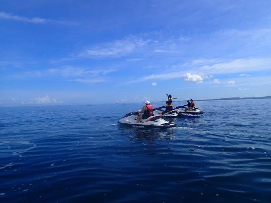 Denarau Island, Fiji: Follow the leader