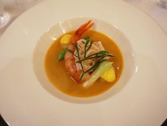 The Goring Dining Room - Cornish Fish Broth