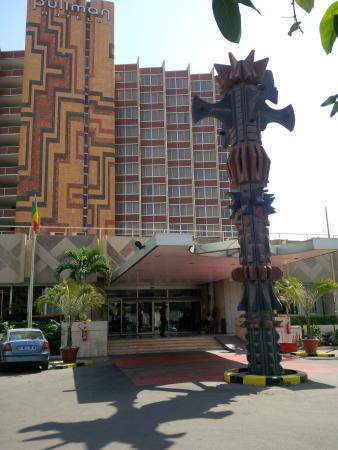 Entr e de l 39 hotel picture of pullman dakar teranga for Entree hotel