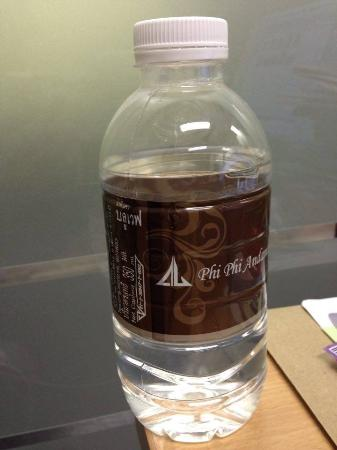 Phi Phi Andaman Legacy: 350 ml. water bottle (2 complimentary bottles a day.